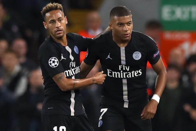 Neymar, left, and Kylian Mbappe, right, have been liked with summer transfers