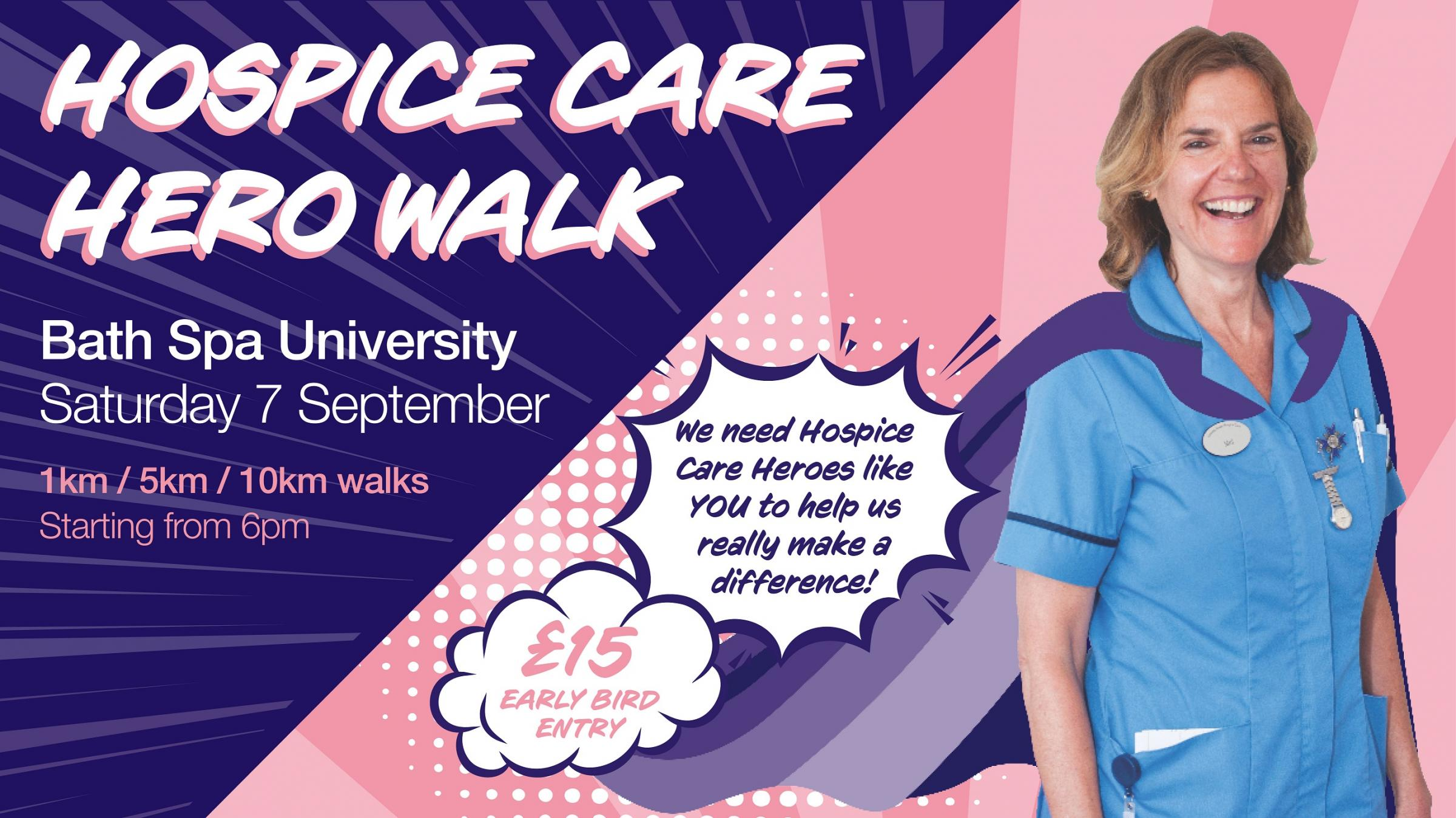 Hospice Care Hero Walk