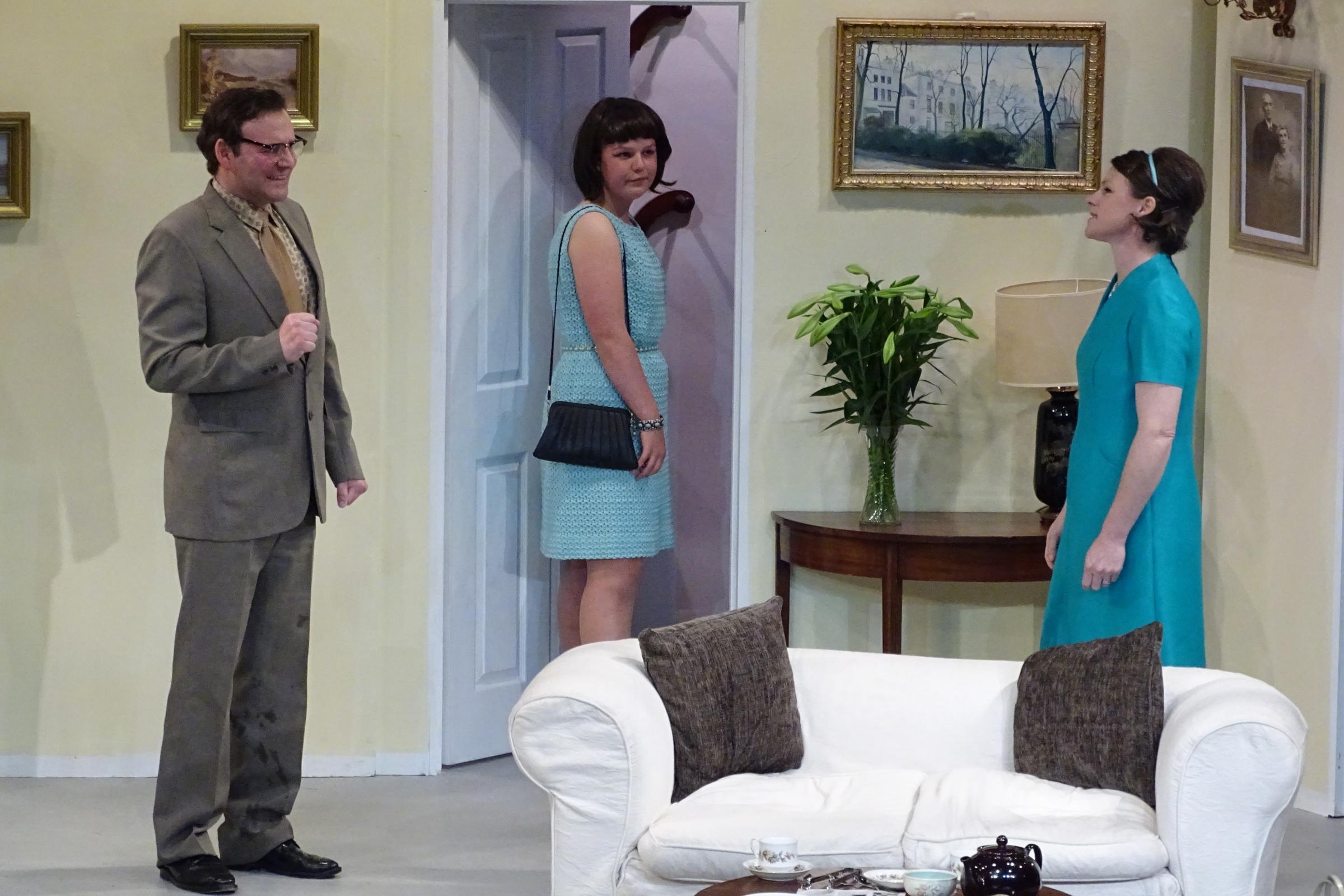 Director's debut evening at village's Woolstore is comedy genius