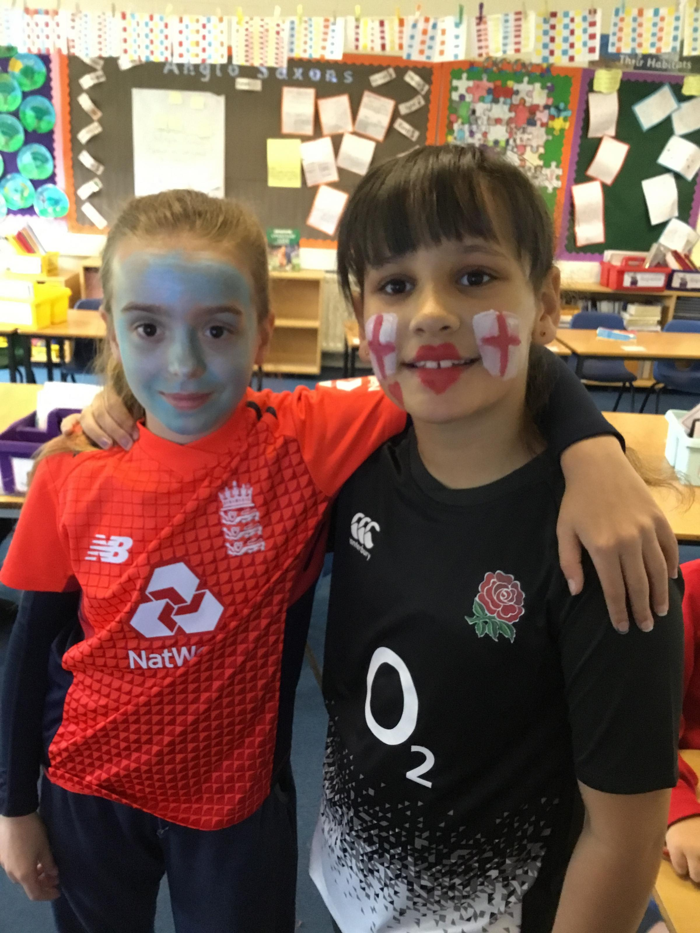 Westbury Leigh Primary School pupils raised £200 for the UNICEF Soccer Aid initiative