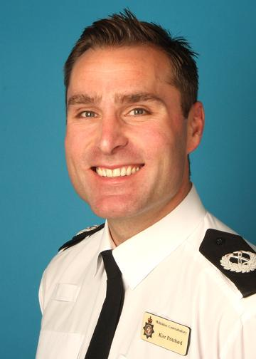 Keir Pritchard, Wiltshire's new chief constable