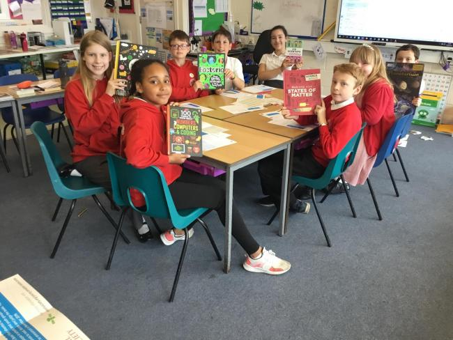 Westbury Leigh pupils are judging the science book shortlist for the Royal Society Young People's Book Prize