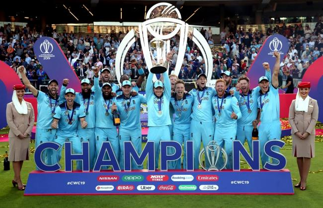 Wiltshire cricketers Dawson and Vince earn World Cup winners medals after England claim thrilling final victory