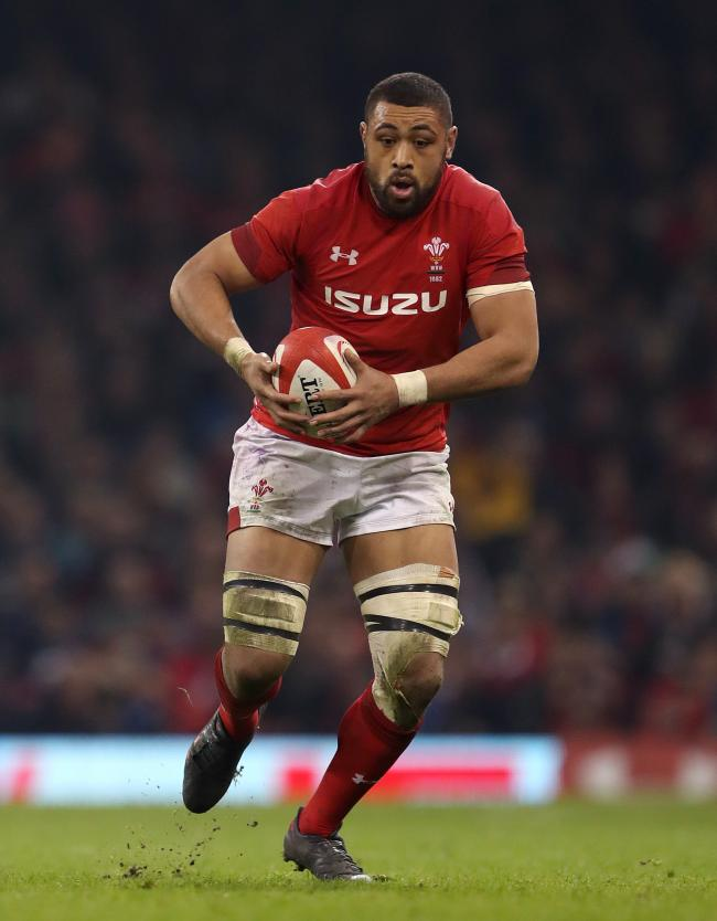File photo dated 11-03-2018 of Wales' Taulupe Faletau during the NatWest 6 Nations match at the Principality Stadium, Cardiff.