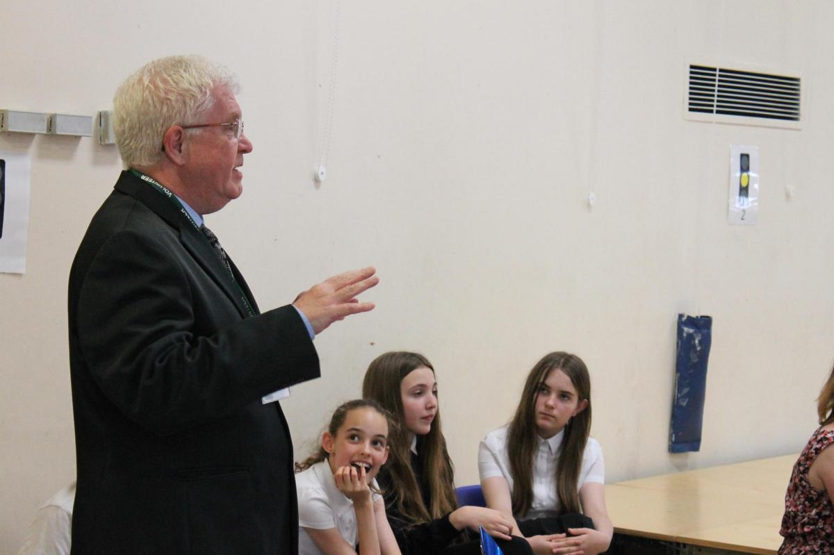 Dr Johnson judges poetry competition at The Grove   Wiltshire Times