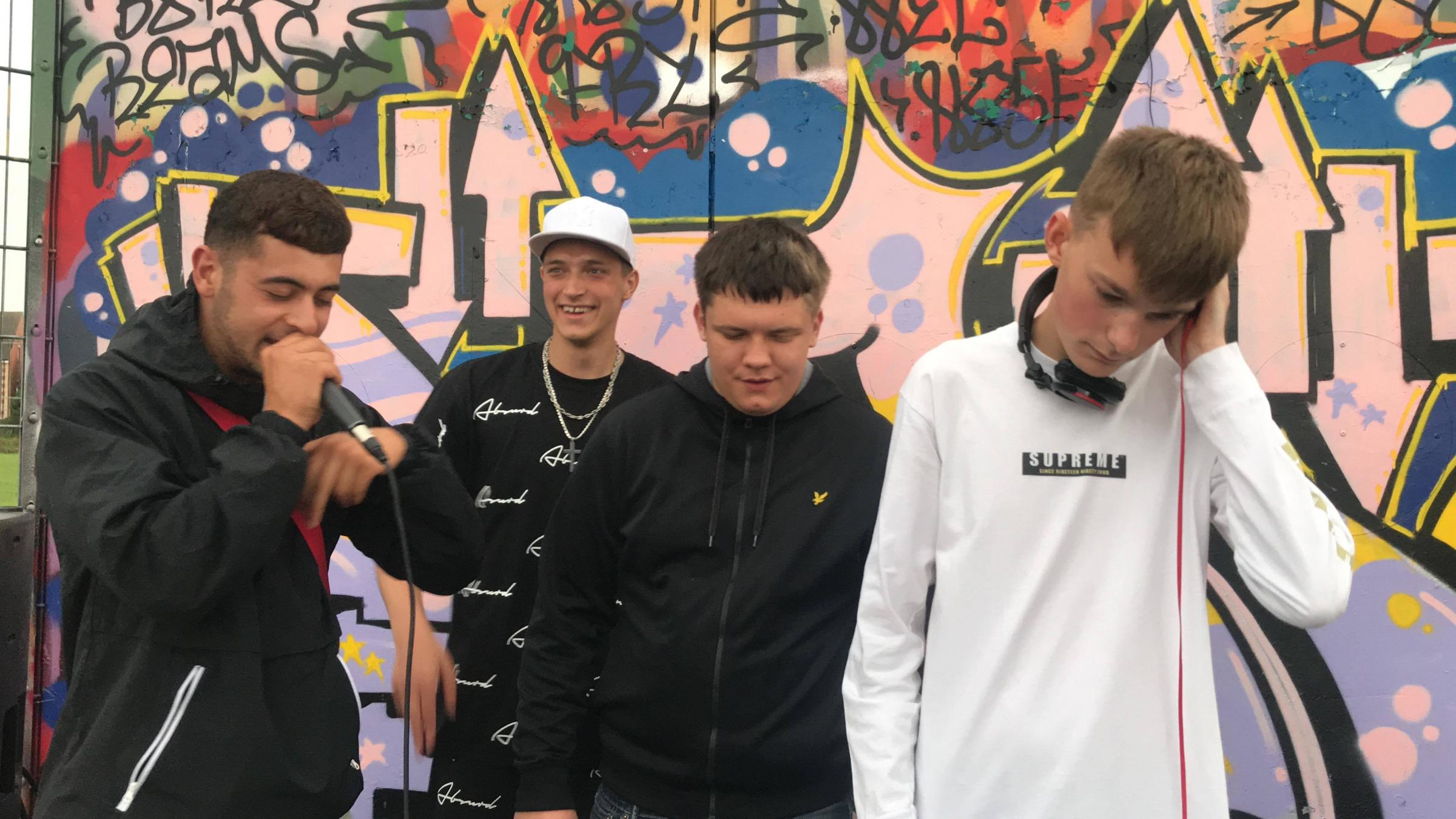 Trowbridge skatepark hosts grime gig after late cancellation