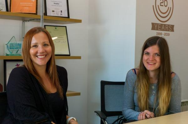 left to right - Hayley Dixon and Emily Rigg of Systemagic Ltd