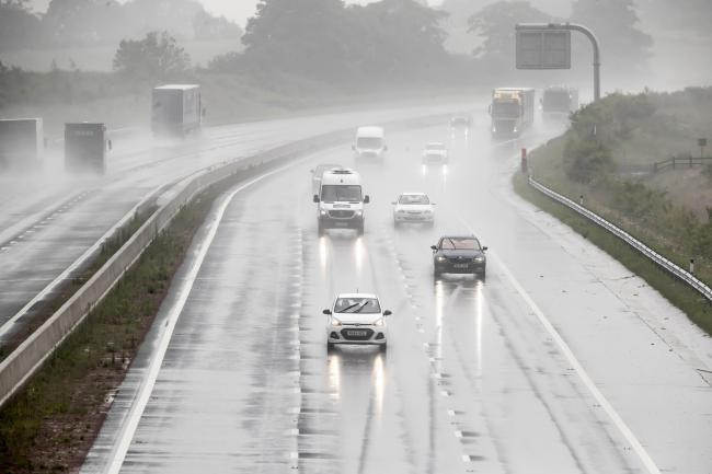 Wet and windy weather expected today