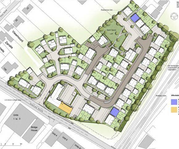 Housing approved on Station Road in Westbury 88 houses