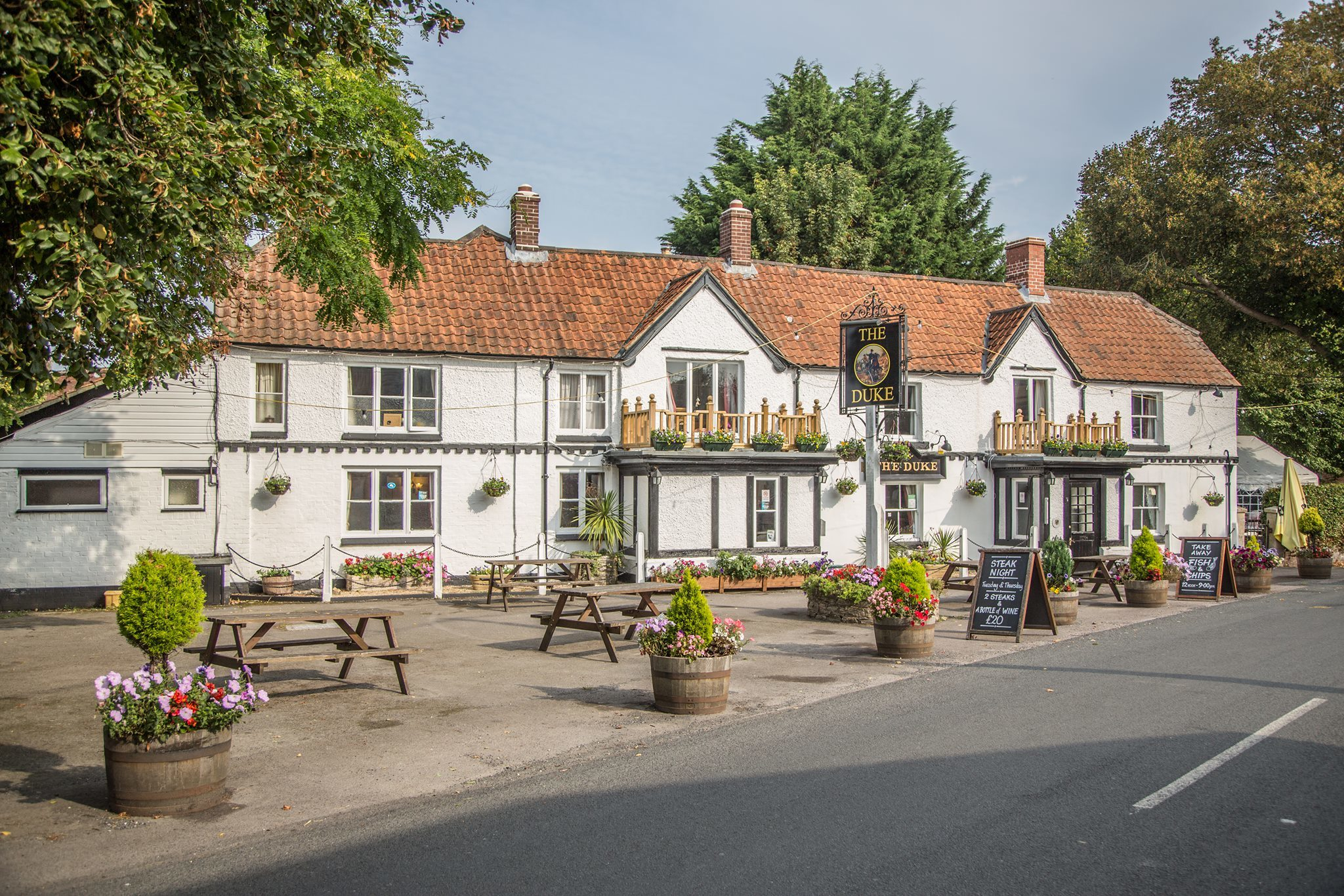 Pub lease of The Duke at Bratton is up for sale