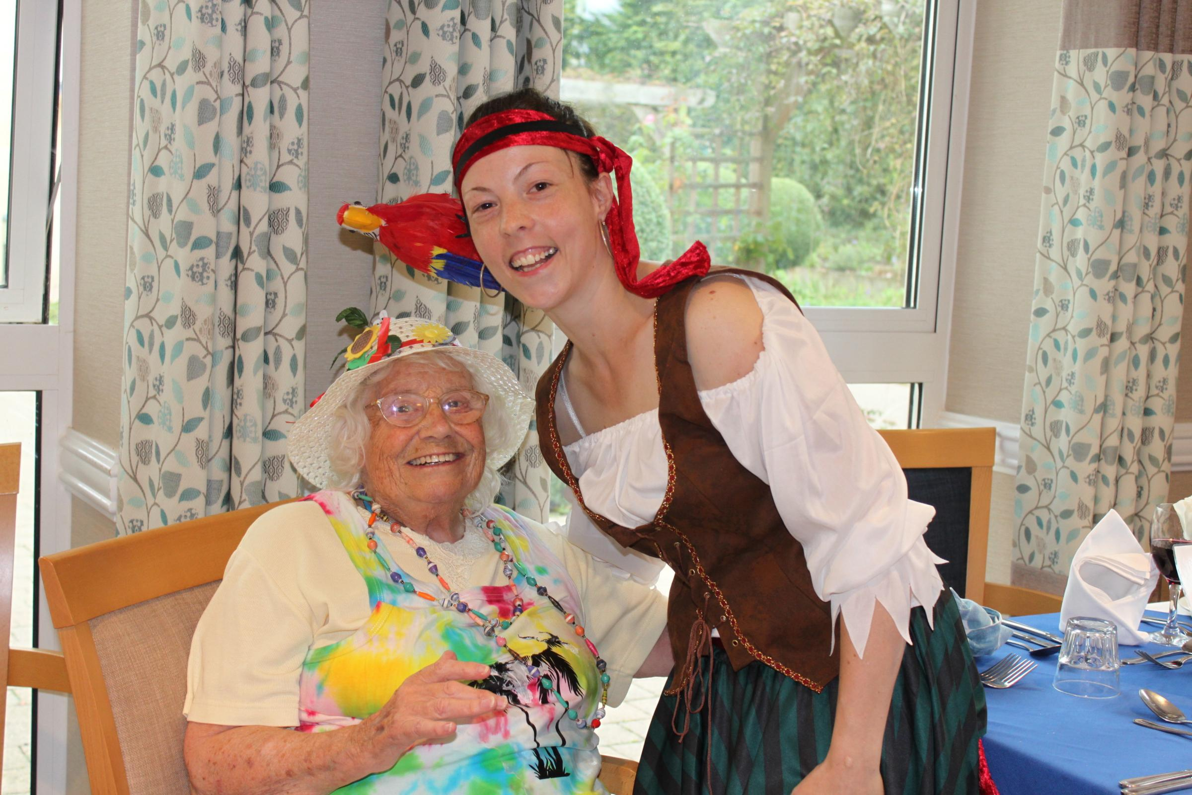 How this care home brought the Caribbean to them