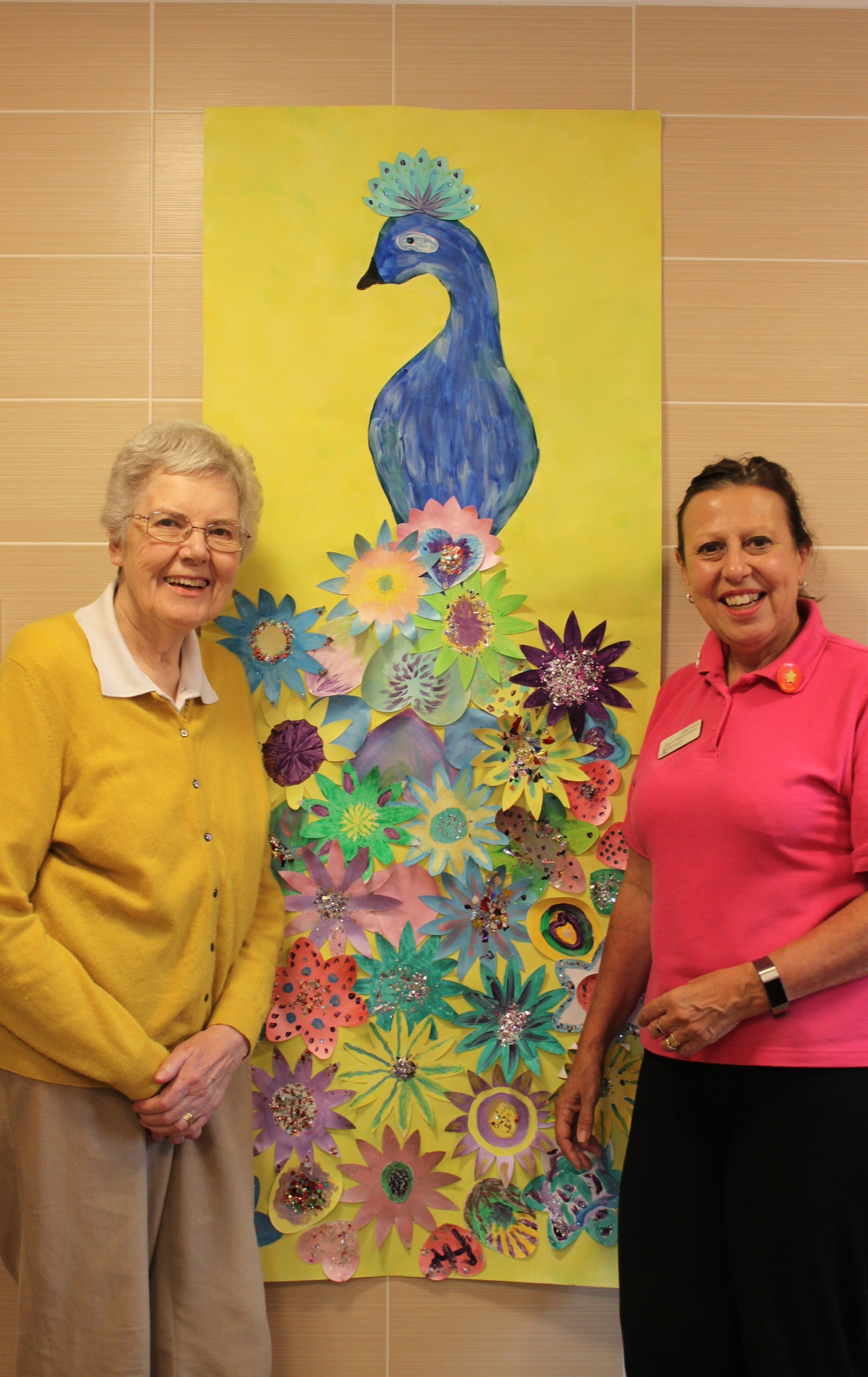 Care home gets arty for awards