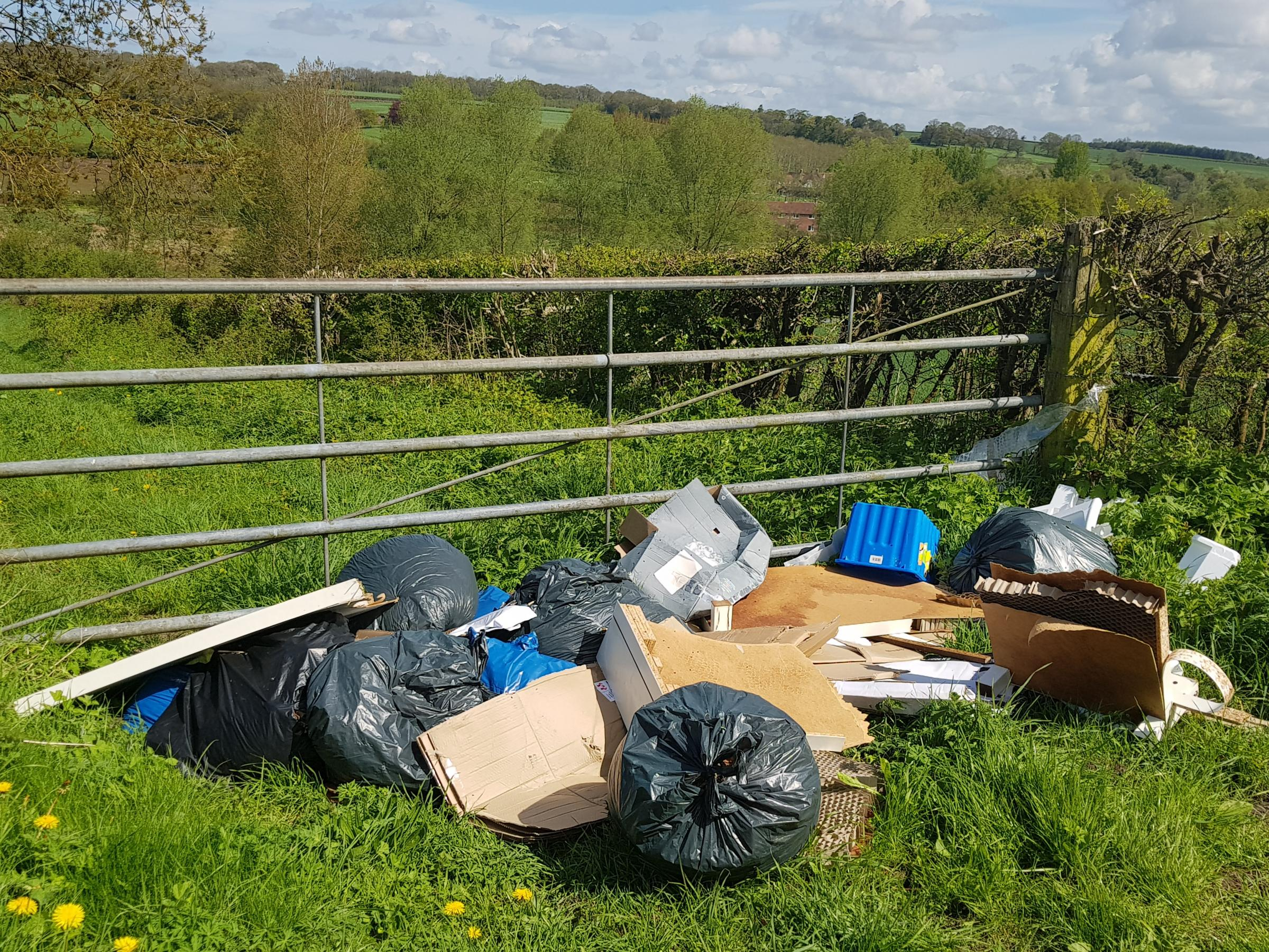 Men caught fly-tipping dealt hefty fine and could face jail if they dump waste again