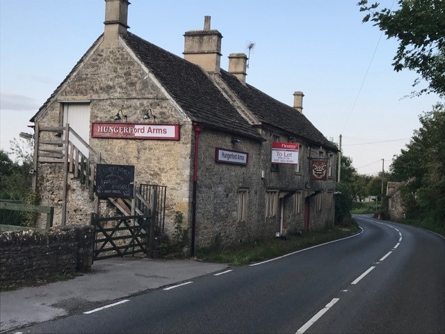Empty pub at Farleigh Hungerford in suspected arson fire drama