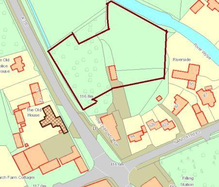 Planning Rpoposals for the home on Sand Street have been denied planning permission