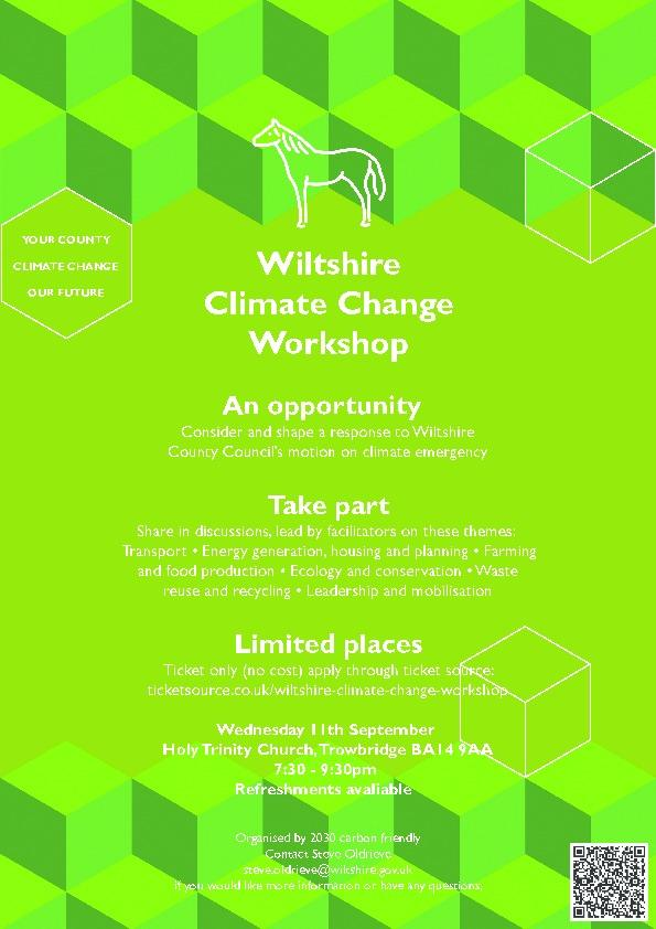 Wiltshire Climate Change Workshop