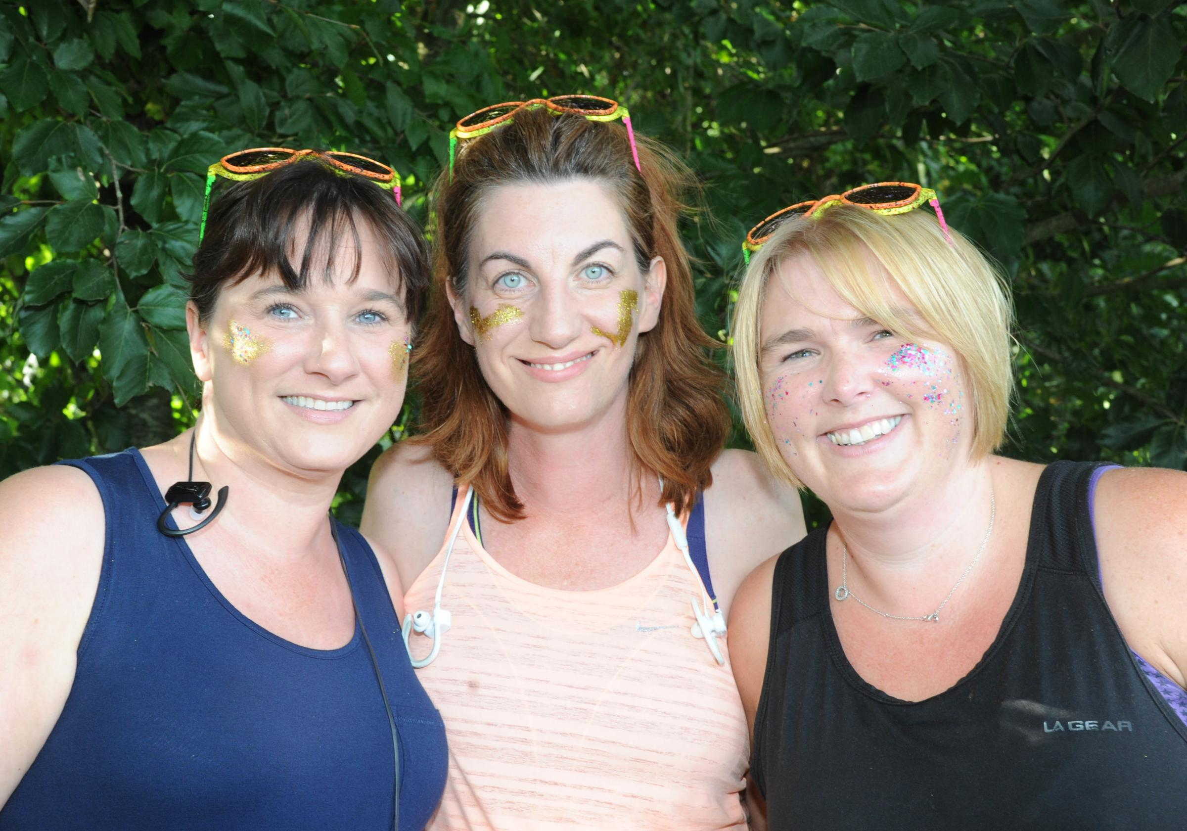 Colour Rush fun before the battle commenced in Devizes