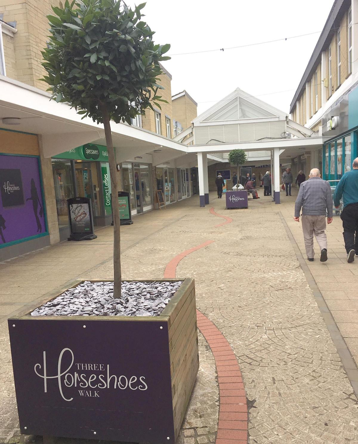 Two new stores plot moves to Three Horseshoes Shopping