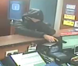 Armed robbery at Coral in Chippenham - raider still at large