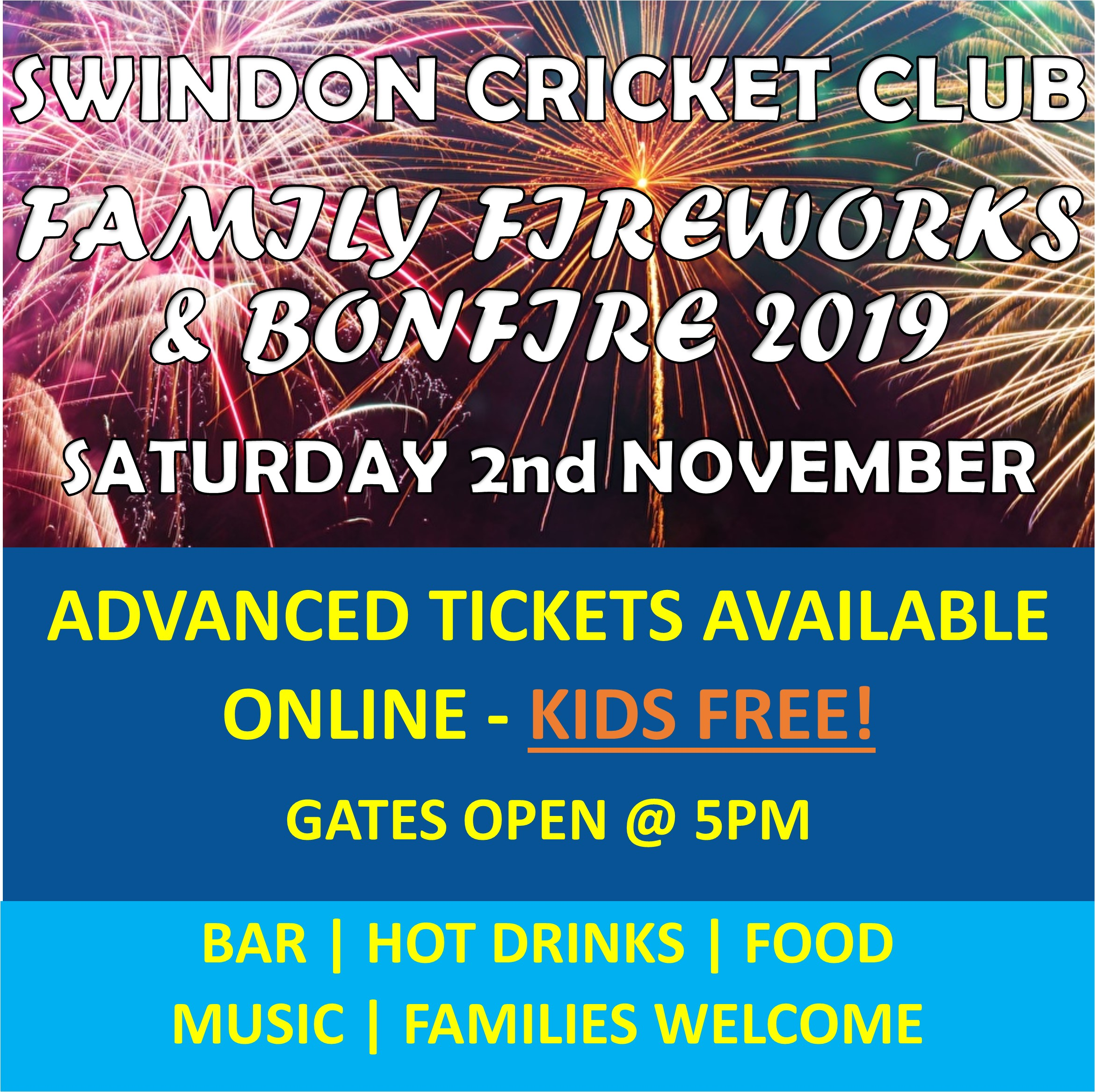 Family Fireworks & Bonfire Night