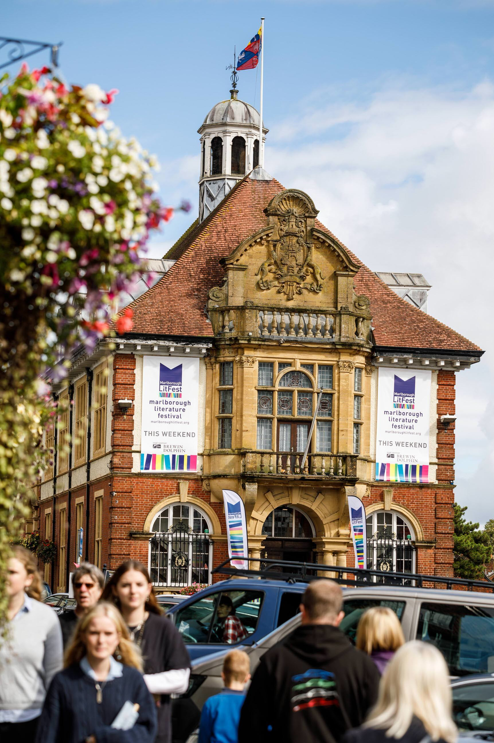 Marlborough is buzzing after LitFest 2019 kicks off in front of 'packed out' crowds