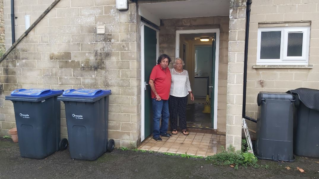 Outbreak of maggots make lives a misery at sheltered housing complex
