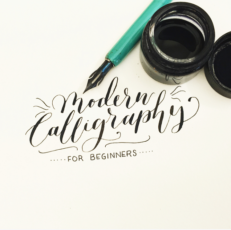 Modern Calligraphy for Beginners - Workshop