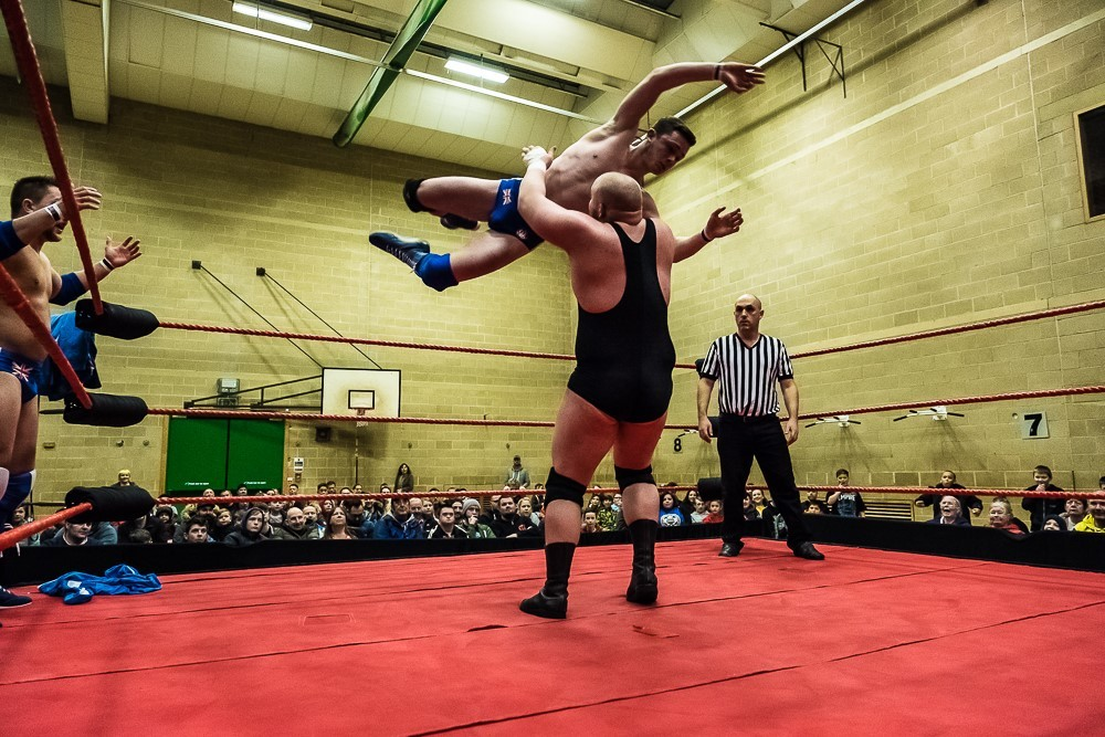 Wrestling show makes its debut