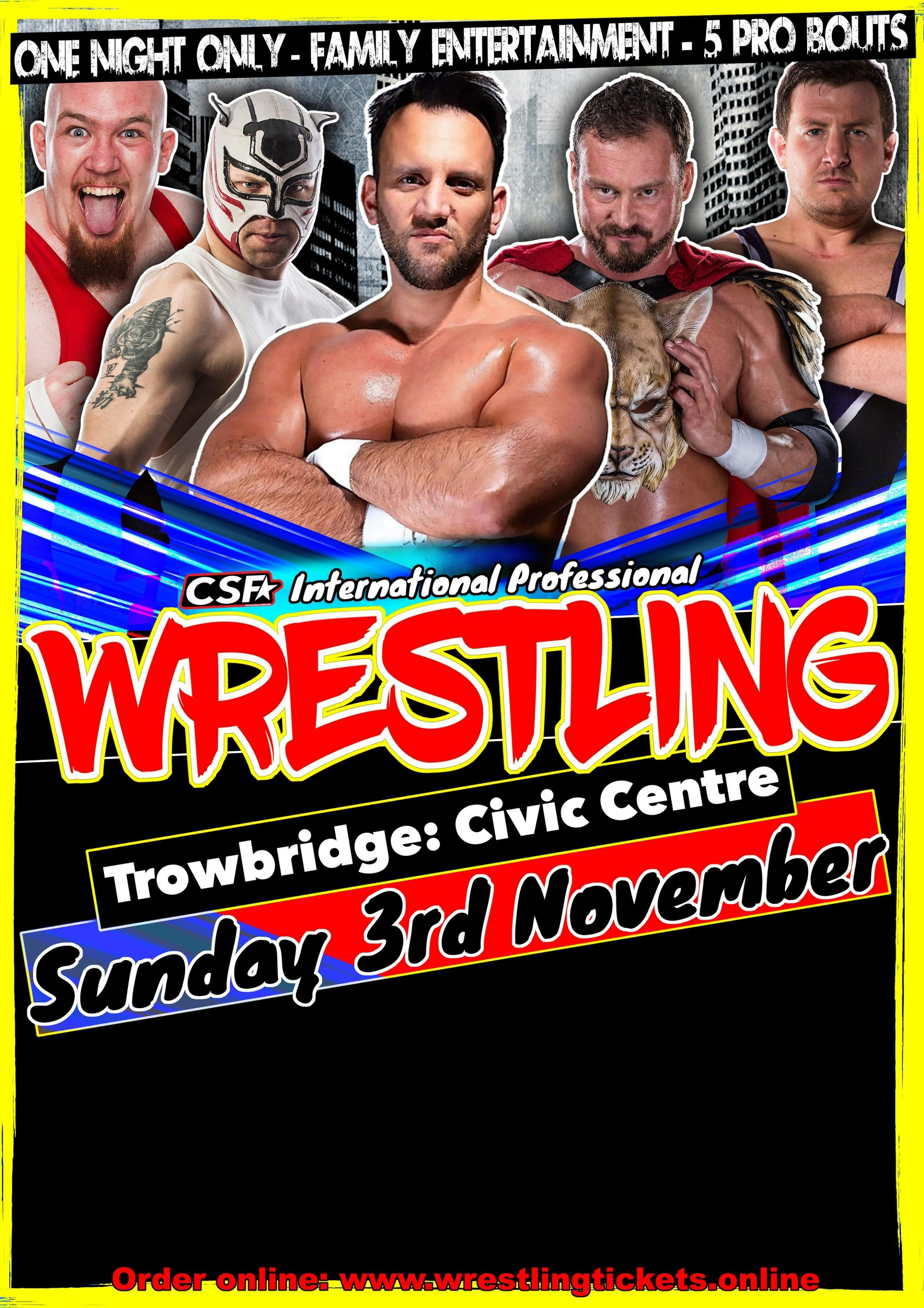 Get tickets for only £9.50 through the Gazette and Herald
