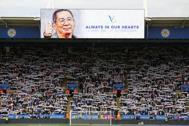 Leicester claimed victory as the club honoured late chairman Vichai Srivaddhanaprabha at the King Power Stadium