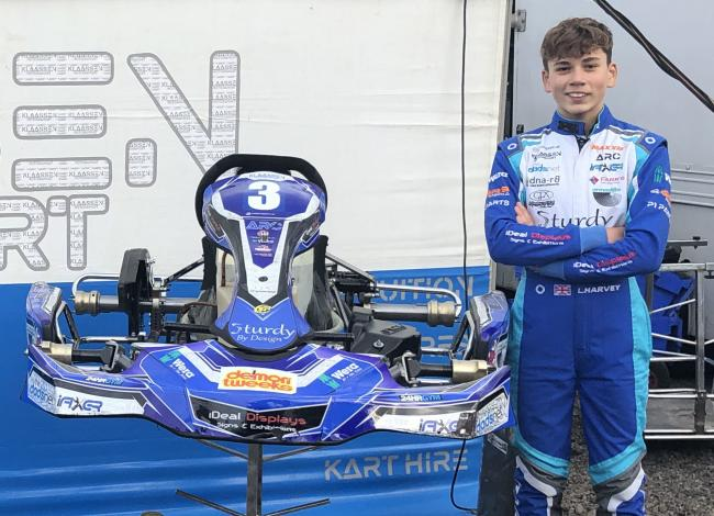 Louis Harvey's track successes have earned him a place on the prestigious Motorsport UK academy programme