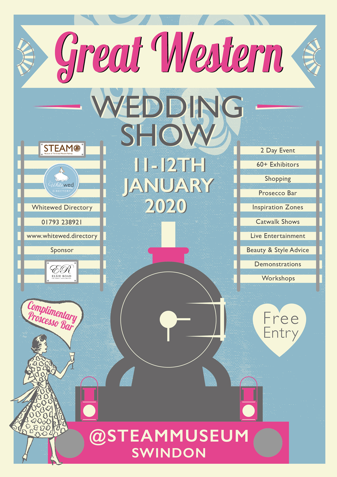 The Great Western Wedding Show at STEAM