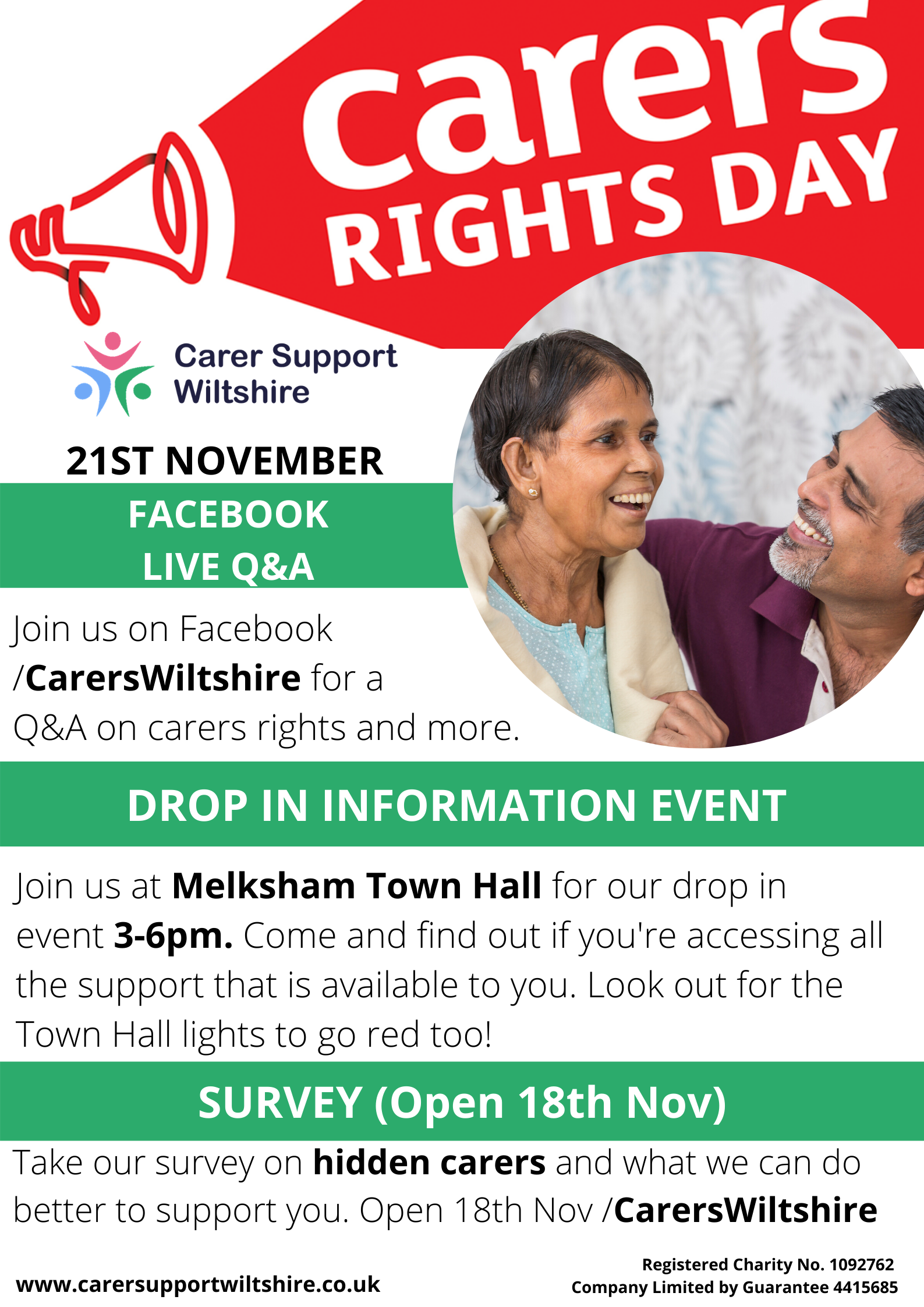 Carers Rights Day Information Drop In