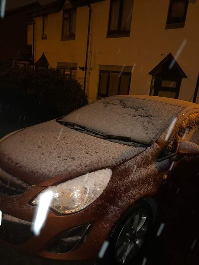 Snow falls over Wiltshire - send us your pics!