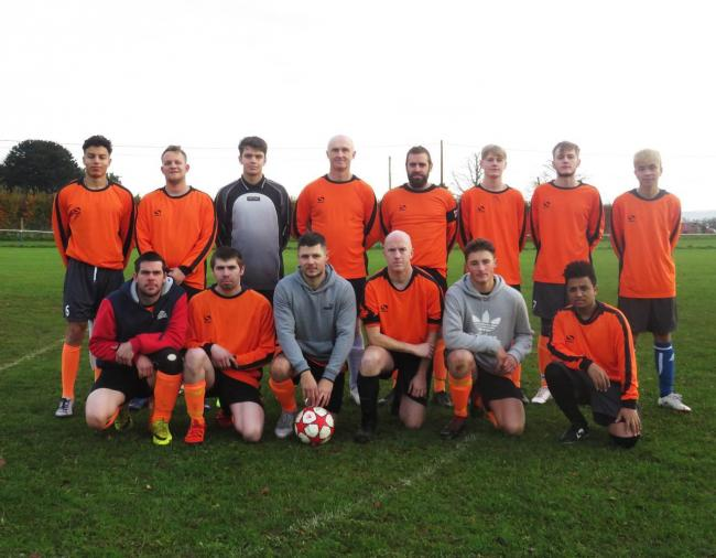 Spartak Rudloe pictured before their nine-goal win away to Misfits in Division Two