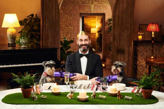 Dogs can dine like royalty this Christmas with Poppy's Picnic's special menu PHOTO: Chris Allerton