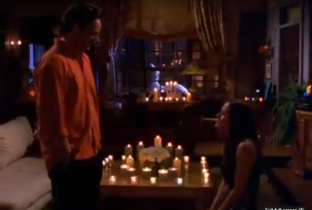 Wiltshire Times: Monica proposes to Chandler in Friends. Credit: Youtube
