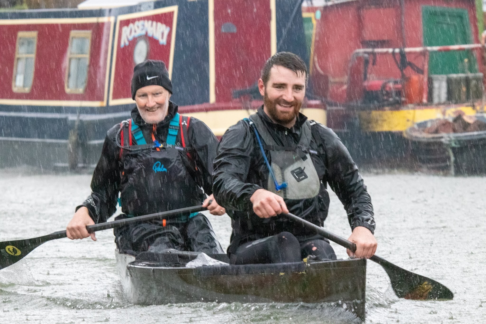 Terminally ill paddler takes on epic canoe race