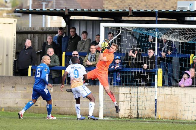 Chippenham Town's draw with Wealdstone will be the last for at least three weeks Picture: Richard Chappell