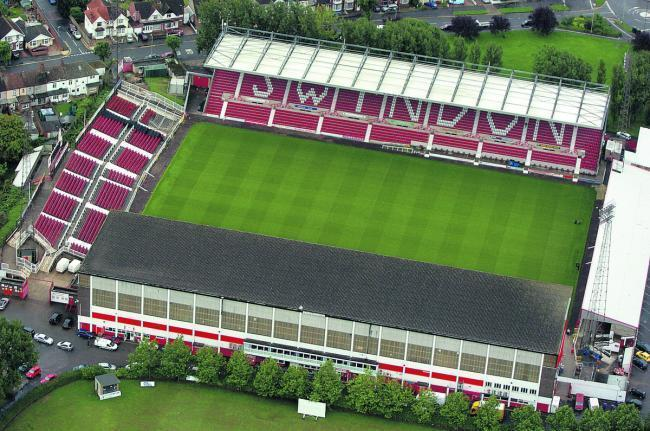 Swindon Town's County Ground home