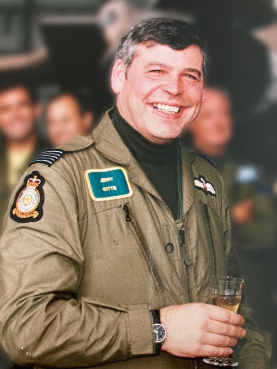 Family remember RAF hero of Operation Desert Storm
