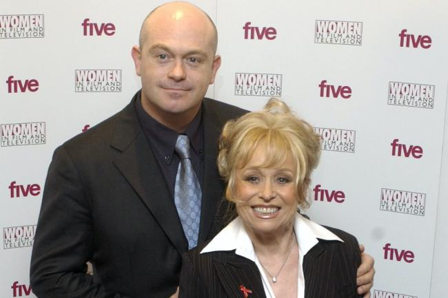 Ross Kemp and Dame Barbara Windsor