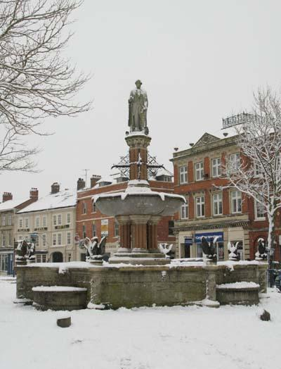 Devizes Fountain. Photo by Sue Wadman.