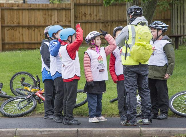 Wiltshire Council's Bikeability cycle training programme seeks instructors Photo: Bikeability Trust