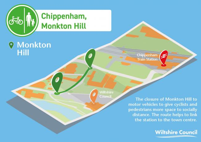 Chippenham Monkton Hill scheme
