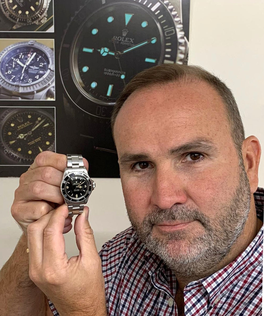 Rare Rolex watch goes up for sale in Wiltshire