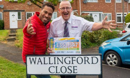 Three neighbours from Wallingford Close won a six-figure share of the £3m April jackpot back in 2019.
