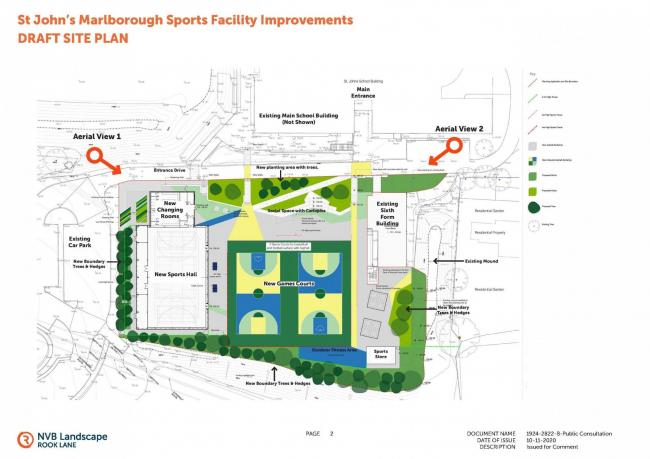 Plans for sports facilities at St John's are unveiled