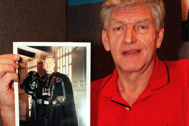 Dave Prowse, the Darth Vader actor
