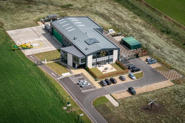 Wiltshire Air Ambulance offers airbase as vaccine centre  Photo: Wiltshire Air Ambulance